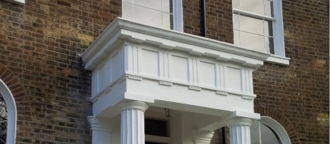 Portico replacement