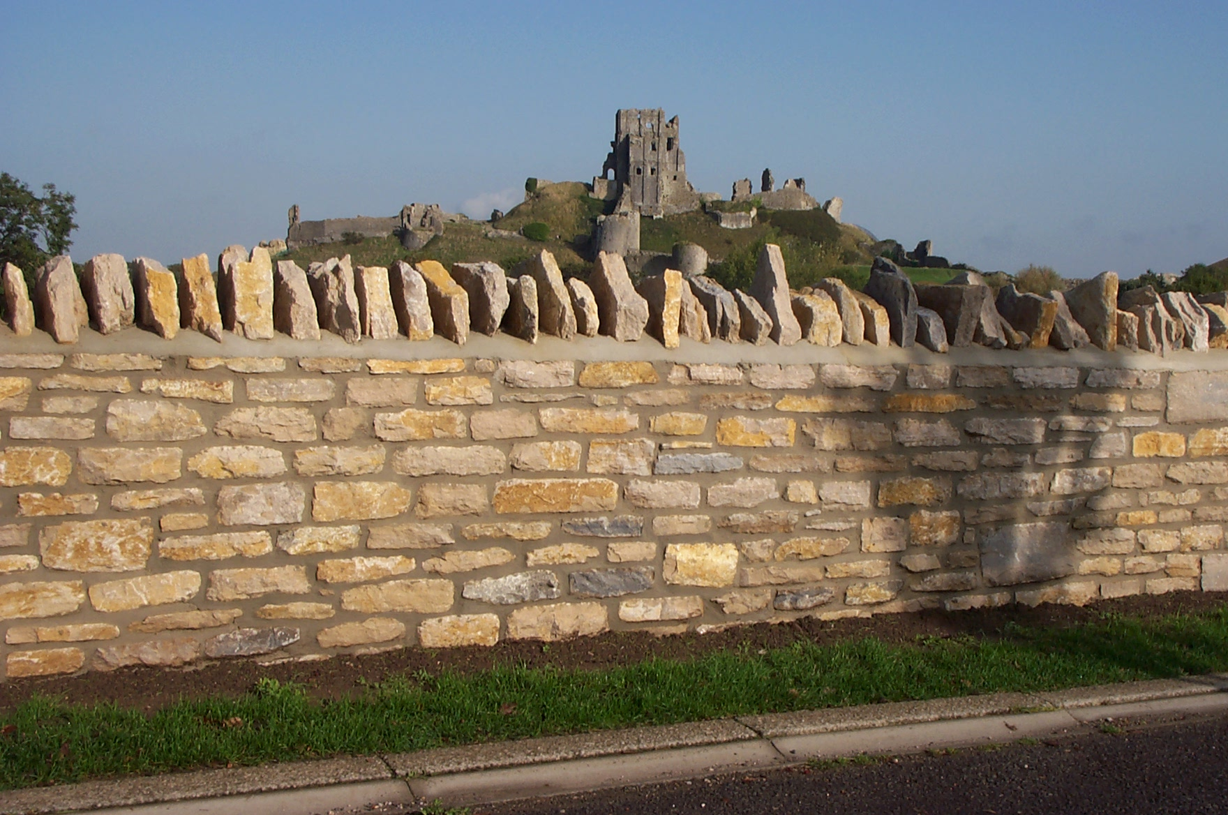 purbeck natural random walling stone